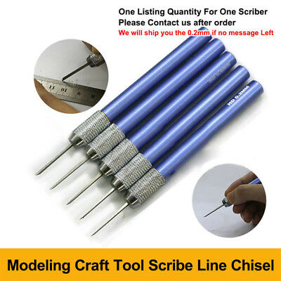Modeling Tools Accessory Scriber Craft Tool Scribe Line Chisel 0.2~4 Mm Durable