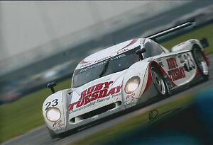 Andy-WALLACE-SIGNED-Autograph-12x8-Photo-AFTAL-COA-Porsche-Daytona-24hr