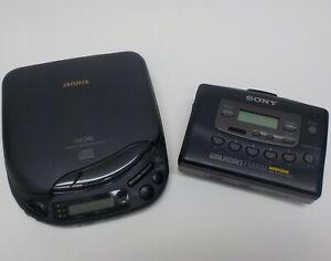 SONY-WM-FX403-AM-FM-Mega-Bass-numerique-CASS-PLR-AIWA-XP-33-Lecteur-De-Disque-PARTS
