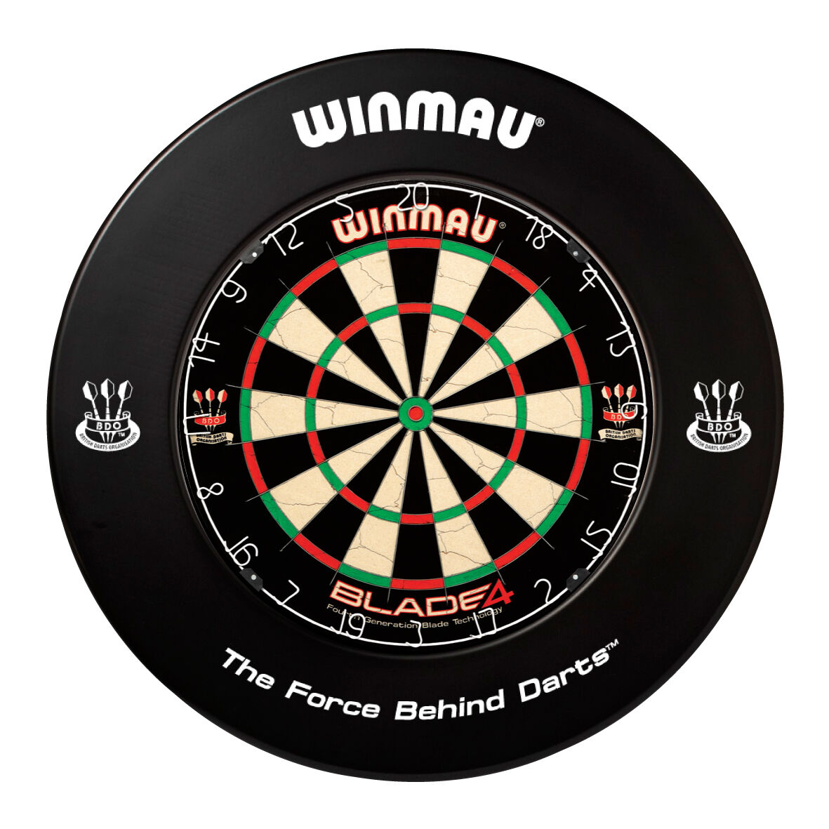 Winmau Dartboard Surround Heavy Duty BDO Dart Board Rubber Ring Assorted Colours