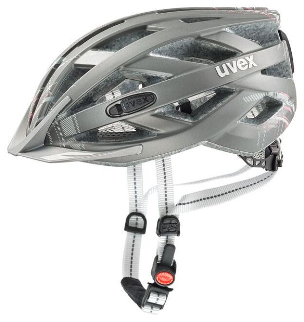 UVEX City Touren Fahrradhelm City i-vo light light light grau matt GR 52-57 cm af8ab4