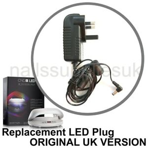 Fantastic Cnd Led Lamp Adapter Uk 3 Pin Replacement Cord Wire Plug 240V 36W Wiring 101 Nizathateforg