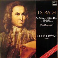 HARMONIA MUNDI JS Bach JOSEPH PAYNE Organ Chorale Preludes HMC-5158
