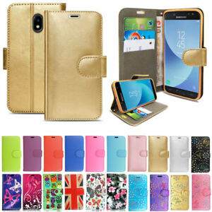new style 62368 e57d4 Details about For Samsung Galaxy J5 2017 Case -Wallet Book [Stand View]  Card J530f Case Cover
