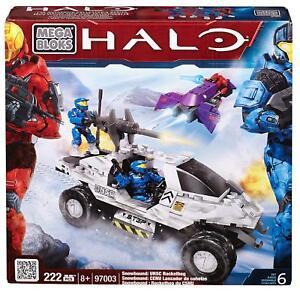 Mega Bloks Halo Snowbound Unsc Rockethog 97003