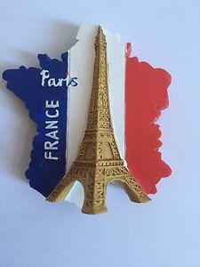 Map Of France Eiffel Tower.Details About Fridge Magnets Paris France Eiffel Tower Monument Souvenirs Notre Dame Map