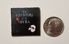 "Dollhouse Miniature Record Album 1""  1/12 scale Barbie  Phantom of the Opera"