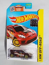 Hot Wheels 2015 Road Rally #78 '12 Ford Fiesta Burgundy From Factory Set