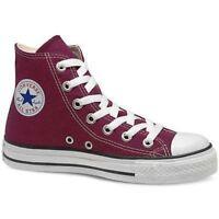 Converse Chuck Taylor All-star Maroon Unisex Hi-tops - Adult Sizes Uk 4 - Uk 10