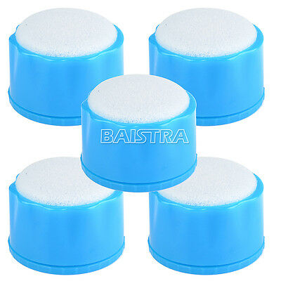 5PC Oral Care Autoclavable Round Dental Endo Stand Clean Sponges File Holder 25g