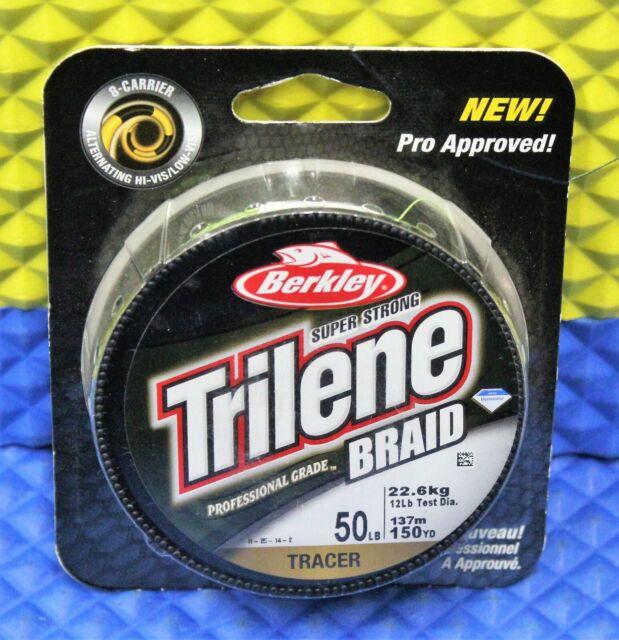 Berkley Trilene Braid Tracer 300 yds new!