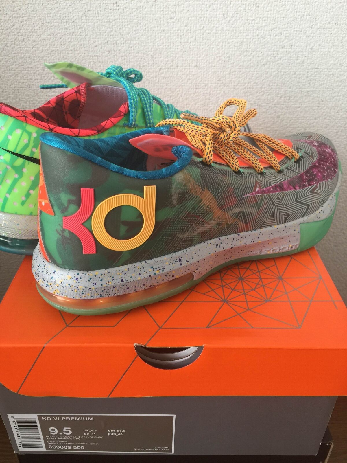 NIKE KD VI 6 PREMIUM  WHAT THE KD  from japan (5632