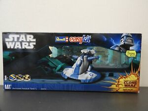 ARMORED ASSAULT TANK STAR WARS AAT MODEL KIT MADE BY REVELL