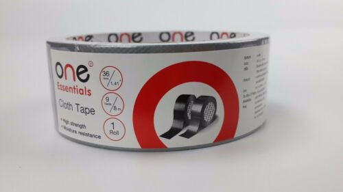 8 M Book Binding Spine Repair Silver Cloth Tape Adhesive High Strength Packing
