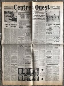 N12-La-Une-Du-Journal-Centre-Et-Ouest-22-Avril-1942