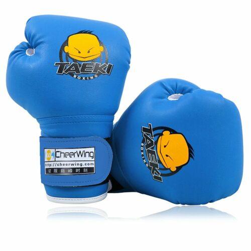 Guantes de boxeo para niños de 5 a 10 años boxing 4oz lucha niñas box par