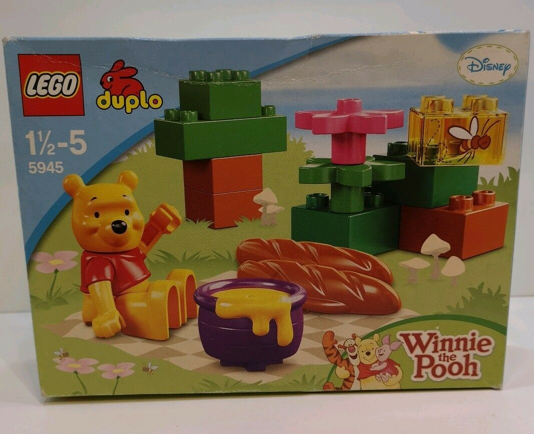 LEGO DUPLO Winnie the Pooh 5945  Winnie's Picnic -NEW Sealed - Rare & Retired