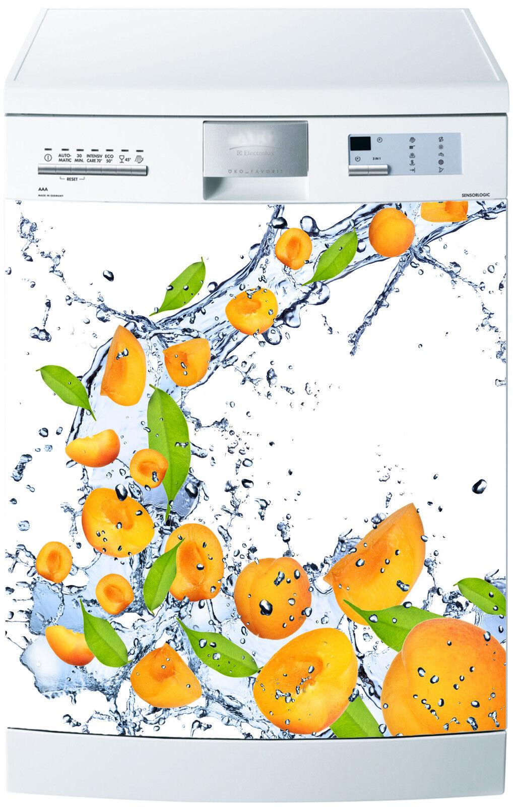 Adhesivo Lavavajillas Decoración Cocina Electrodomésticos Albaricoque Ref 531