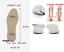 Pronation-Correction-X-O-Type-Bowlegs-Supination-Eva-Leather-Posture-Insoles miniatura 17