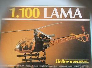 VTG HELLER HUMBROL LAMA 1.100