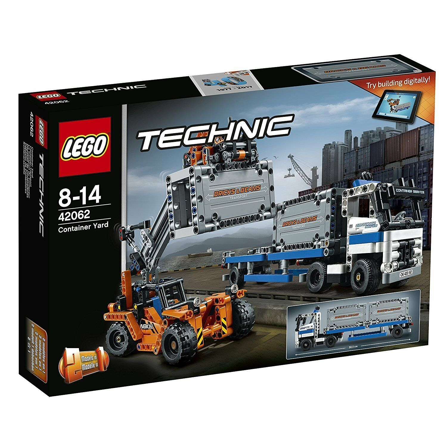 Lego Technique™ 42062 Container-Transport Neuf Emballage D'Origine Misb