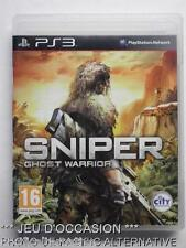 jeu SNIPER GHOST WARRIOR sur PS3 playstation 3 francais game spiel juego gioco