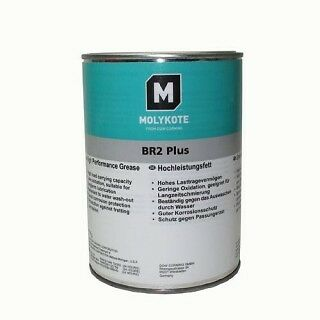 grasa molykote br2 plus 1kg alto rendimiento larga duracion con MoS2