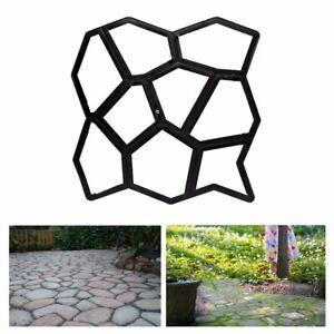 Pflasterform DIY Schalungsform Garten Unregelmäßig Betonpflaster Gießform Gehweg