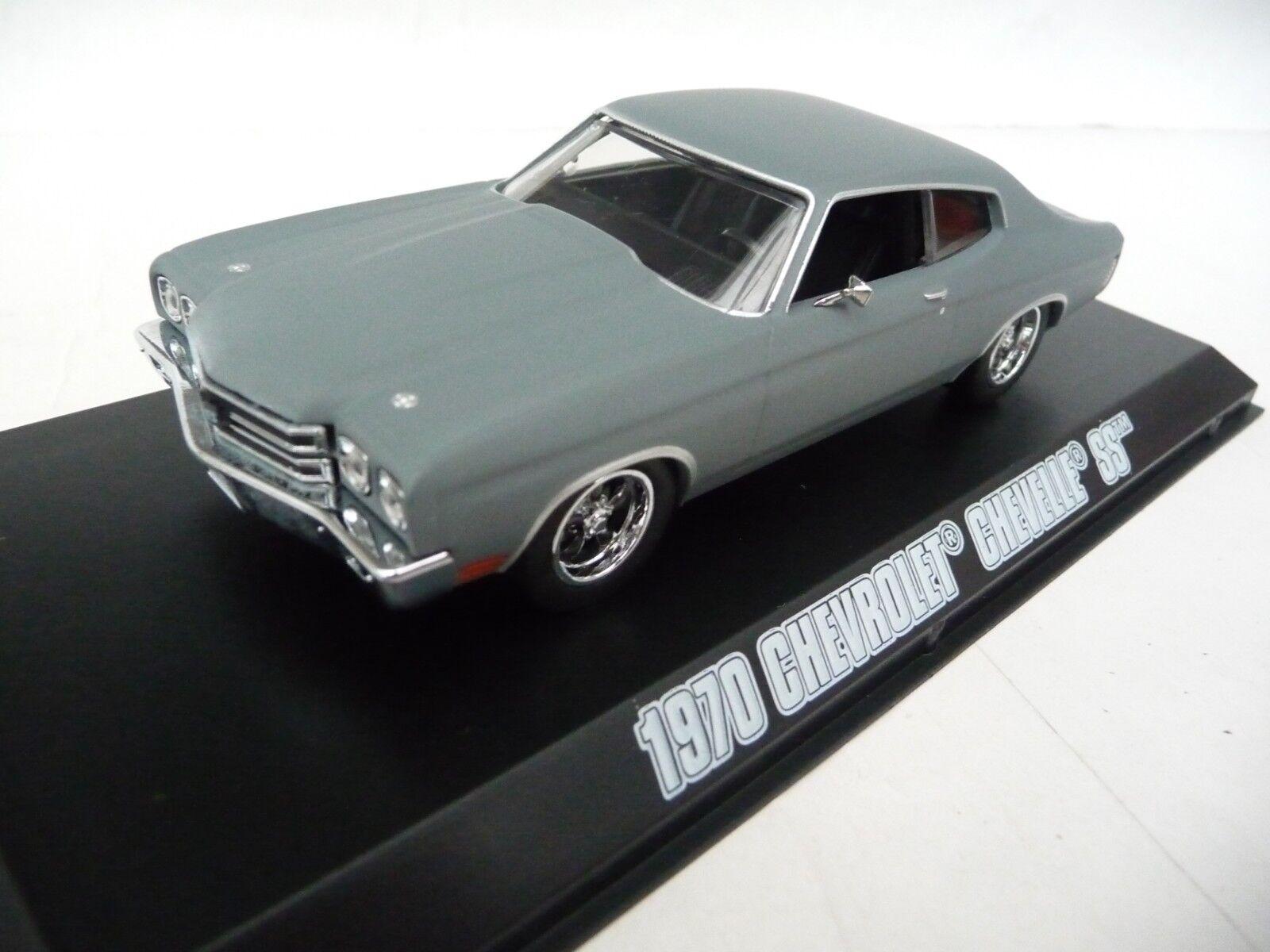 Green Light 1 43 Chevrolet Chevelle SS 1970 Grey Fast & Furious 4 GL86227