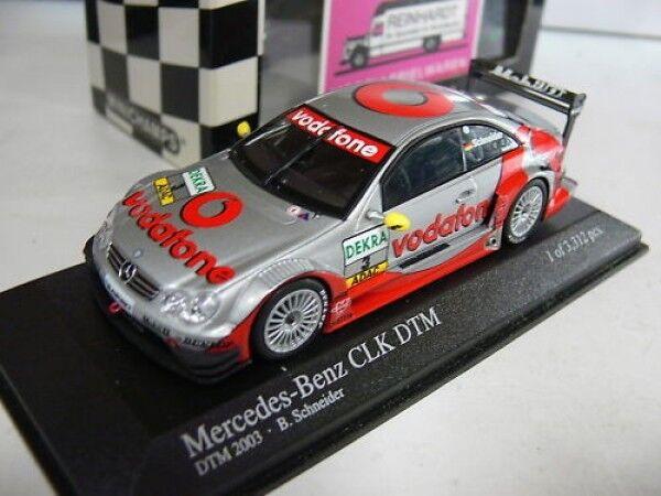 1/43 Minichamps MB CLK DTM 2003 B. SCHNEIDER TEAM  3 400033303 AMG