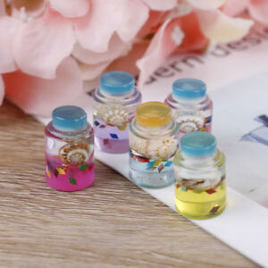 1-5Pcs-shell-glass-bottle-filler-for-clear-fluffy-mud-box-popular-children-toy-U