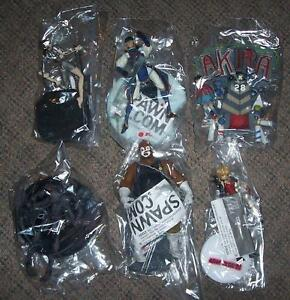 Spawn Animation 3d du Japon 6 Collection Lot de figurines rares Htf