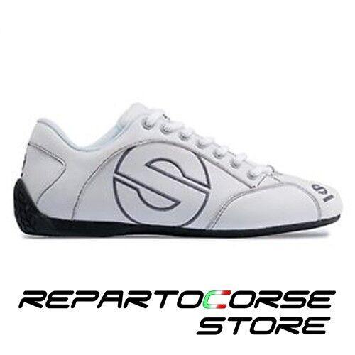 SCARPA SCARPE SPARCO - BIANCA MODELLO ESSE - PELLE BIANCA - - 001201 TAGLIA 37 6e954d