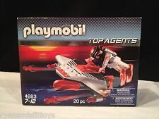 Playmobil Top Agents Torpedo Diver 4883 NEW Retired Motorized Moves in Water NIB