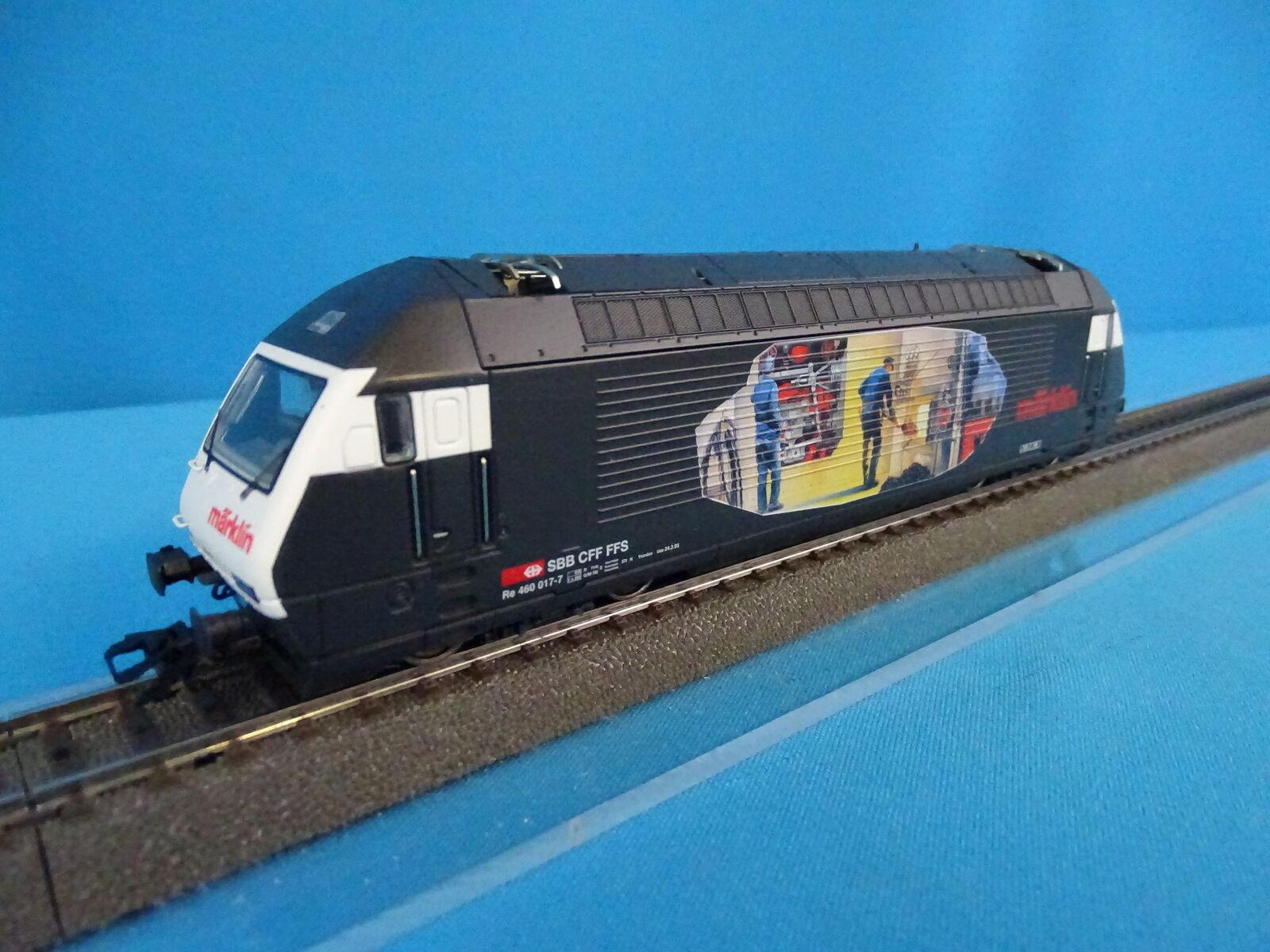 Marklin 3451 SBB CFF Electric Locomotive Br 460  HEIZER LOC