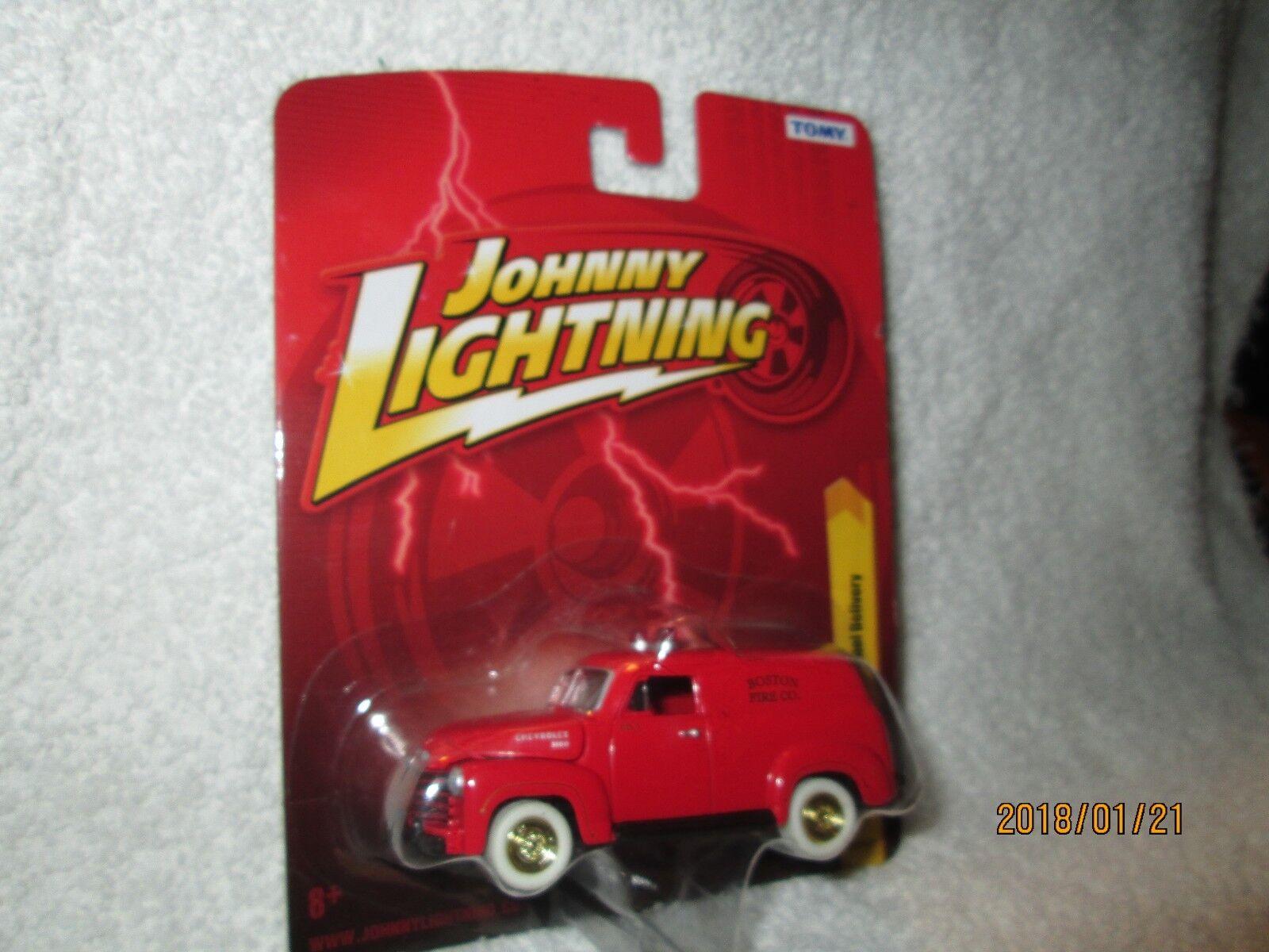 economico 1950 Chevy Pannello Consegna Camion Inseguimento Inseguimento Inseguimento 1 64 Johnny Fulmini oro Ruota  autentico online