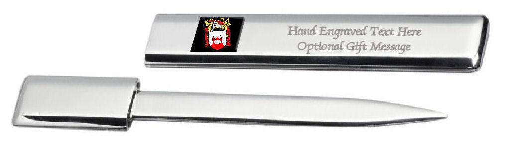 Fca0137engaps829a Chapman Famille Crest Coat of Arms Ouvre-Lettre