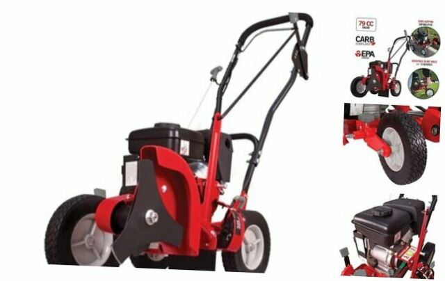 Powermate Walk Behind Gas Edger 9 In 79 Cc Lawn Yard Curb