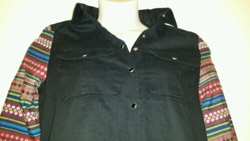 Jacket Heavy a lunghe Twill maniche maniche Kris New Qco 118 Black M contrasto Ali WvAnw8Yq4n