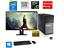 Fortnite-Gaming-PC-Desktop-Computer-i7-16GB-180GB-SSD-RX560-Win10-WIFI-Monitor thumbnail 1