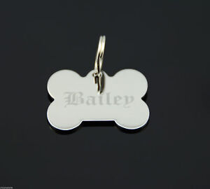 Custom-Engraved-Personalized-Stainless-Steel-Bone-Shape-Dog-Tag-Pet-ID-Name