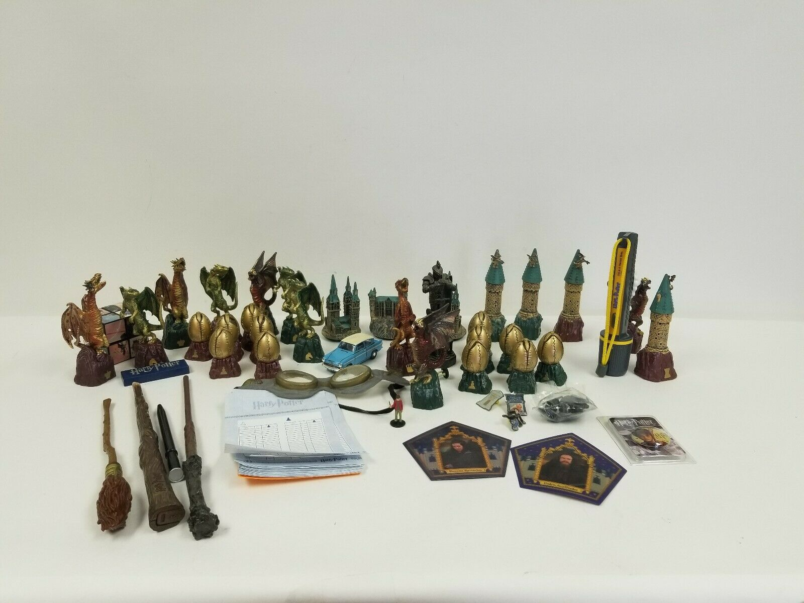 Deagostini Harry Potter Chess Pieces Incomplete Set Pre-Owned Loose