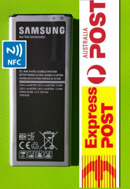 Genuine Original 3220 mAh Battery for Samsung Galaxy Note 4 N9100 With NFC