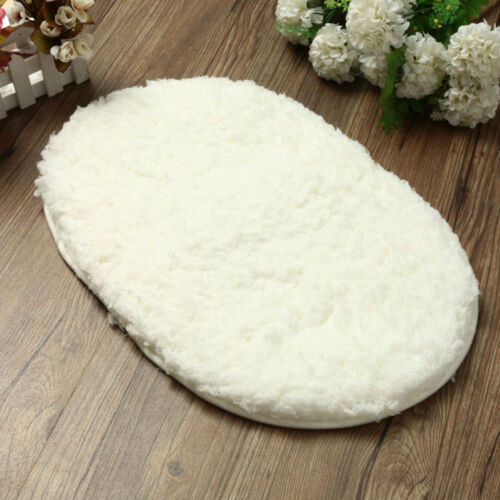 Absorbent Soft Bathroom Bedroom Floor Non-slip Mat Bath Shower Rug Plush Carpet