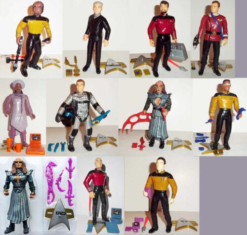 STAR TREK GENERATIONS DATA PICARD WORF LURSA B/'ETOR KIRK LaFORGE LOOSE