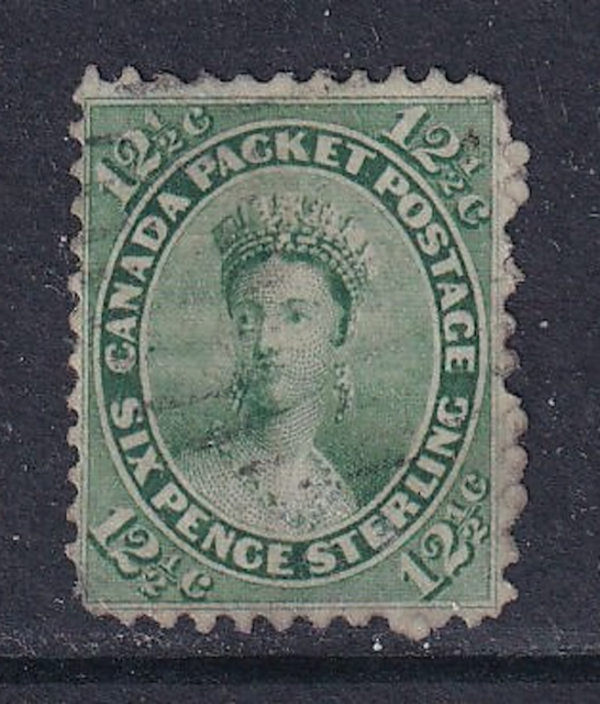 Canada First Cents Issue #18  Used  F/VF  CV $150.00  Nice Quality
