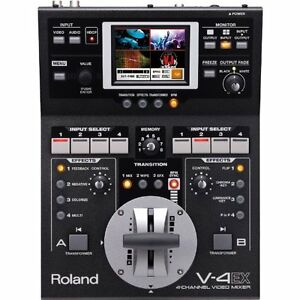 F-S-NEW-Roland-V-4EX-Four-Channel-Digital-Video-Mixer-Effects-Touch-Control-EMS