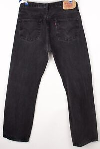 Levi's Strauss & Co Hommes 501 Jeans Jambe Droite Taille W36 L32 BDZ93