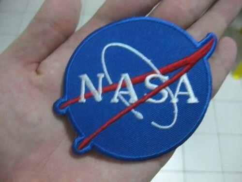 NASA Classic Logo SPACE Mission SHUTTLE Aufnäher Aufnäher Aufbügler 7x9.5cm