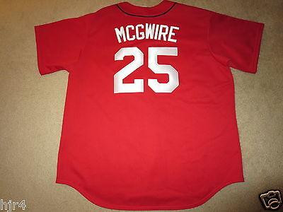 Sport Einfach Mark Mcgwire # 25 St Louis Cardinals Mlb 1998 Majestic Trikot 2xl 2x Gut FüR Energie Und Die Milz Baseball & Softball